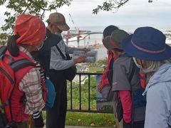 日和山公園では震災当時の様子を地元の人が語ってくれました。