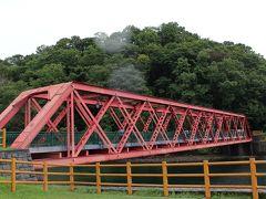 山線鉄橋(=英国製ダブルワーレントラス橋) 明治32年第一空知川橋梁として架けられていたものが、大正12年王子製紙の専用軽便鉄道として現在の場所に移されたようです。