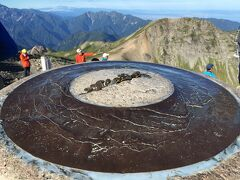 7:20  白馬岳山頂にとうちゃーーーく(≧▽≦) 白馬大池からのコースタイムは3時間でした!