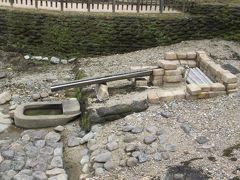 亀形石造物。20年前に発掘調査で見つかったという。説明してくれたガイドのおじちゃんがおもしろかった。一人旅だからいっぱい教えてもらいました。 ちなみにこれは禊に使われたそう。