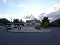 大沼公園の散策を終えて大沼公園駅へ。駅前の観光案内所で情報収集しました。