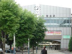 歩いて帯広駅へ向かいます。
