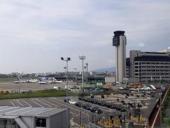 AM9時35分。大阪空港に到着。  走行時間35分でした。