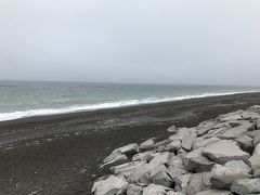 Day26 7/23木 雄武~湧別 79.4km 7:36発ー14:35着 霧雨と曇りでした。  流氷岬