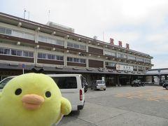 宿をチェックアウトして 近鉄榊原温泉口駅から松阪駅にきました。 改札はJRと近鉄が共用しているよ