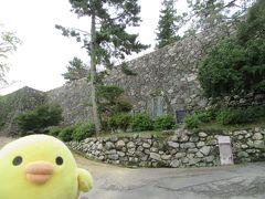 松阪城にきました 石垣がすごい