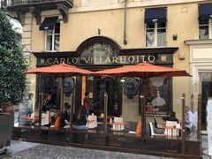 こちらがBMOご希望のチョコレートショップ、【グイド・ゴビーノ(La Bottega, Guido Gobino)】ですー。 チョコレートマニアなBMOにとって、チョコレート大国トリノに来たなら、こちらは外せないお店らしいですー( ´θ`) チョコレート大国と言えば、この近くには、これまた有名なチョコレート店【Caffarel】もありますヨー(行かなかったけど)。 【グイド・ゴビーノ】でしこたまチョコレートを仕入れてご満悦のBMOを急かして、さあ、ホテルに急げー!ヽ(`Д´)ノ