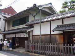 北国街道の反対側にある「安藤家」に戻ります。 ここも「長浜浪漫パスポート」で入れます。