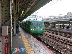 京都駅からJR湖西線で大津京まで。