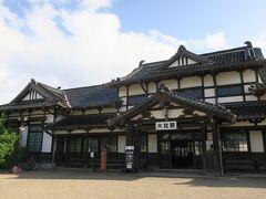 翌日旧大社駅へ。