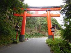 次は山の中腹にある太皷谷稲成神社に向かう。稲荷ではなく稲成と書き、「願望成就の願いを込めている」のだそうだ。