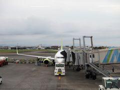 宮崎空港に到着。 着いたのは17時過ぎだけど、西日本はまだ明るいのが嬉しい。