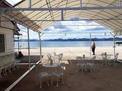 再び生口島へ戻り ここはサンセットビーチ ここのタコ天がまた絶品!!