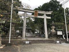 針綱神社を通り過ぎて…
