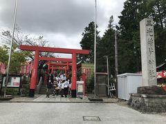 三光稲荷神社を抜けて犬山城へ向かいます。
