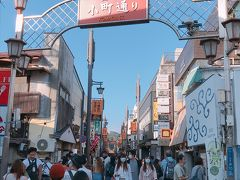 小町通り 鎌倉の商店街通り 色んなお店があり人通りも賑やかでした 気になるお店が多かったので次回再度回りたいです✨