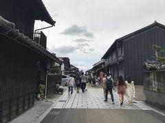 本町通りを散策。