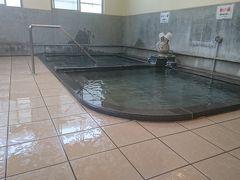 腹ごしらえ後は飯坂温泉へ。例によって熱めですが、とてもスッキリします。