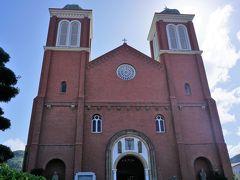 ホテルに戻りチェックアウトした後、平和公園の方に移動です。 浦上教会(旧称:浦上天主堂)。