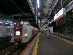 ★19:30 そして出雲市駅に到着。足早に宿を目指したのでした。