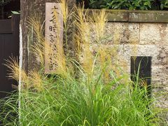 三浦坂の中ほどから上まで続く石塀は大名時計博物館の塀になります。入口は塀に沿って半周したところにあります。  大名時計博物館 勝山藩藩主・三浦家の下屋敷跡が大名時計博物館になっています。 江戸時代に大名お抱えの時計師達が、長い年月をかけて手づくりした「大名時計」を集めて展示しています。世界に類をみない日本独特の時計だそうです。