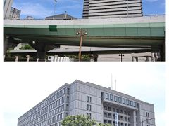 大阪市役所や、日銀の立派な建物を見ながら、歩き続け、、、