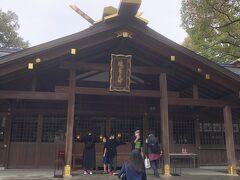 猿田彦神社も初めて来ました。