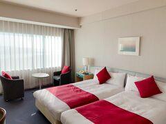 ツインルームのシングルユースで予約した、倉敷せとうち児島ホテル。 今回の3泊4日の旅行で1番贅沢な宿泊。 でも、GoToトラベルキャンペーンを利用して7000円ちょっとで泊まれちゃうってめっちゃお得!