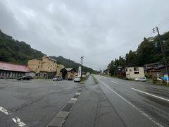 ★14:00 本日宿泊する「柵口温泉 権現荘」は、能生から山間へ10キロちょっと入った場所にある温泉旅館。