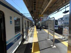 14:15  終点の越生駅に到着しました~。
