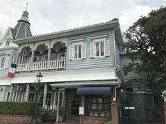 また、洋館を利用した素敵なレストランもありました。