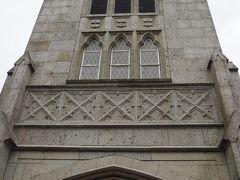 洋館巡りを終えて、元町中華街駅へ向かいます。 途中にあった山手聖公会の教会です。