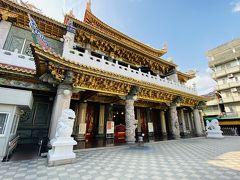 次の駅である大東で下車し、1798年創建の鳳山天公廟へ。