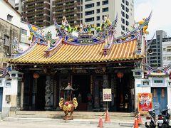 行きたかったのは臺灣府城隍廟。