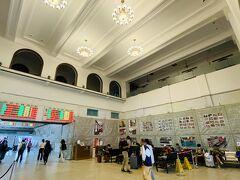 高雄に戻るべく、台南駅へ。台南に4年住んでいた自分には特別な意味を持つこの駅。