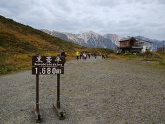 リフトを降りたところは黒菱平です 気軽に1680Mまで登ってこれて絶景です  登山者はまだまだこれからですけどね