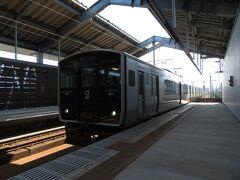 2020.09.27 西熊本 さて、熊本できっぷを受け取って、午後の部を始めよう。熊本駅で妻から再びバトン(きっぷ)を受け取るため、統計はノーカウント。