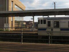 2020.09.27 宮崎ゆき特急きりしま14号車内 単線電化の日豊本線沿いの主要駅を1つずつ拾ってゆく。車両繰りや送り込みの関係で架線下DCがたくさん設定されているのも南九州あるある。