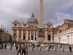 サン・ピエトロ広場へ出てきました。