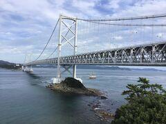 少し歩いて千畳敷展望台へ。橋を見るには一番良いかも