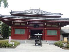 浅草寺の方へ行ってみました。
