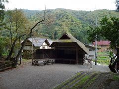 檜枝岐の舞台。この舞台で演じられる「檜枝岐歌舞伎」は重要無形民俗文化財だそうです。