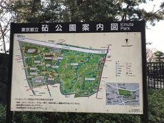 砧公園は広い芝生がある公園です。