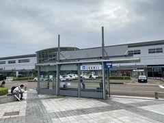 小松空港からの出発のため、 まずは小松駅へ。