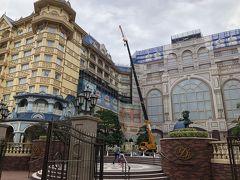 ランドホテル、絶賛外壁工事中でした!