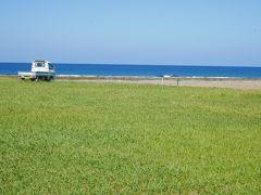 島北側を海岸線沿いに西へ 手々(てて)にある手々海浜公園