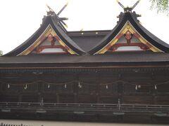 続いて吉備津神社へ参拝しました。桃太郎のモデルとなった大吉備津彦命が祀られてます。