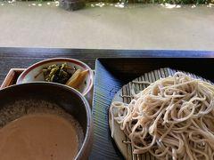 阿蘇にいる時はいつでも食べに来られたのになぁ~ くるみ蕎麦、絶品です