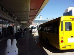 そのホテルの送迎バスで羽田空港第1ターミナルへ。 JALはここから出発です。