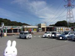福岡都市高速道路から九州道へ。 途中の基山パーキングエリアに寄ることにしました。